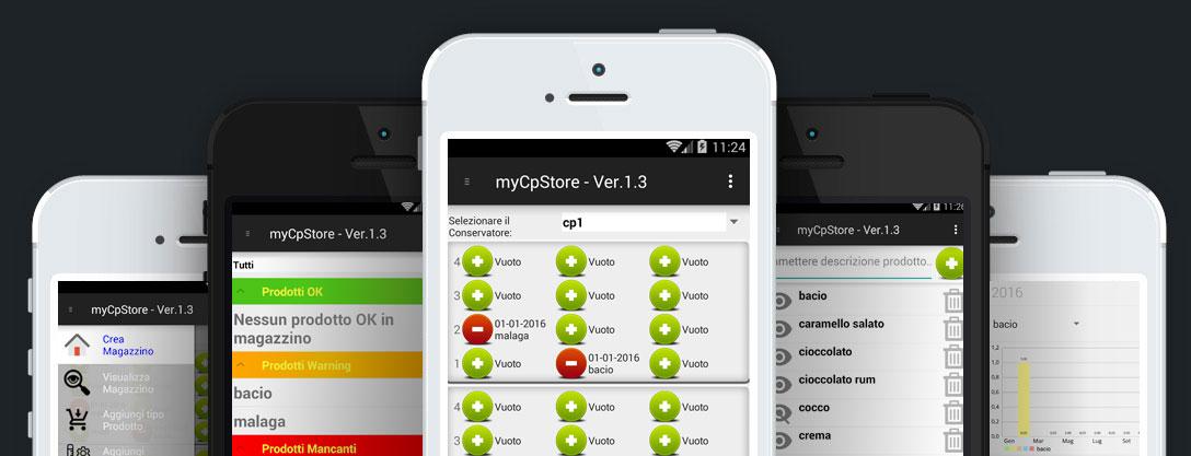applicazioni mobile mycpstore